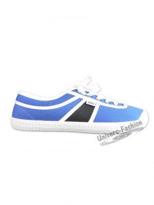 Teniși damă cu șiret - albastru