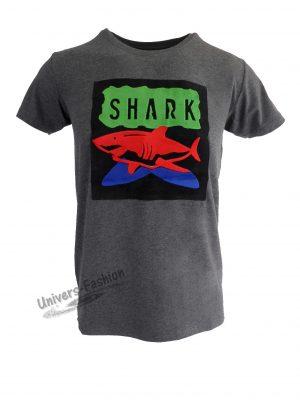 "Tricou bărbat - gri ""Shark"""
