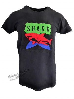 """Tricou bărbat - negru """"Shark"""""""