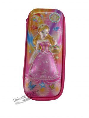 """Penar 5D - roz cu fermoar imprimeu """"fetiţa"""""""
