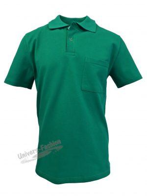 Tricou polo bărbat, verde