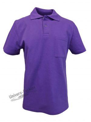 Tricou polo bărbat, violet