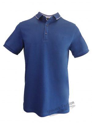 Tricou polo bărbat, regular fit, albastru