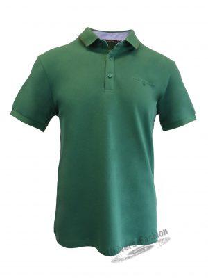 Tricou polo bărbat, regular fit, verde