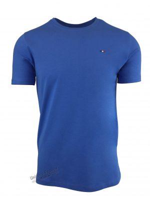 Tricou barbat, uni, culoare albastru